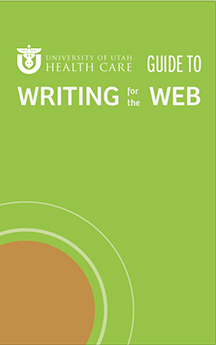 Cover of Writing for the Web Guide