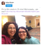 Tweet from Pin to Win HCIC 2015 Presentation